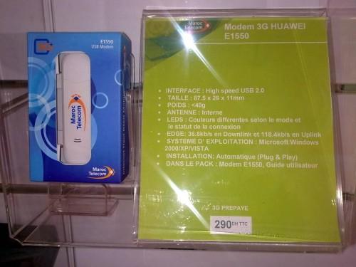 Modem 3G HUAWEI E1550