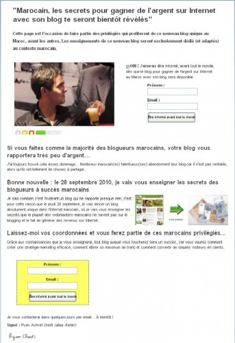 achraf 343x500 Blogueurs marocains, rentabilisiez votre blog efficacement !