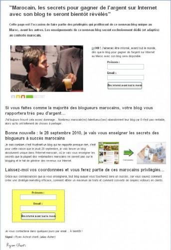Un Business Internet rentable au Maroc avec votre blog